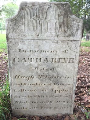 CatharineCalhounMcLaurind1841at79