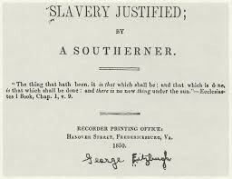 SlaveryJustified